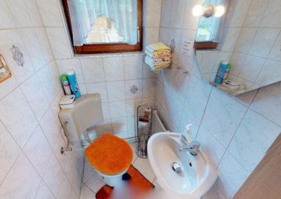 WC der Ferienwohnung Ganderkesee